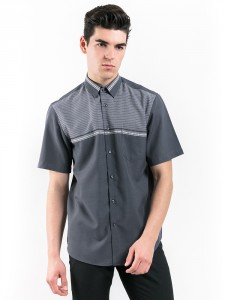 REGULAR FIT SHIRT WITH COMBINATION