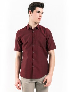 SHORT SLEEVES PATTERNED SHIRT